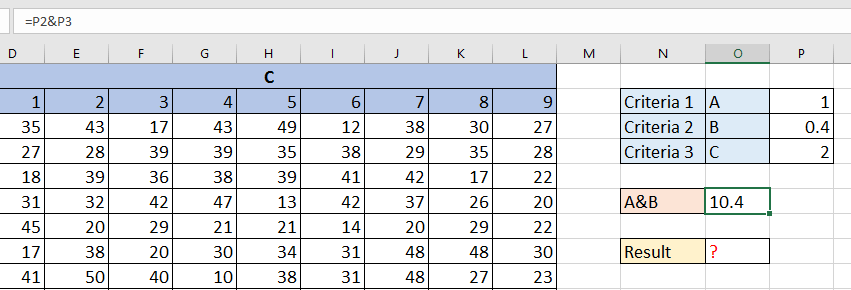 doc lookup in 3d table 4