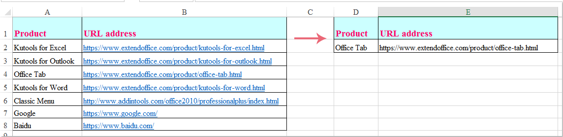 how to make a hyperlink active in html