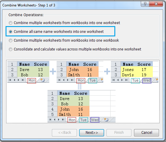 how to add 2 worksheet into one in excel