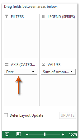 how to change the name in a legend in excel