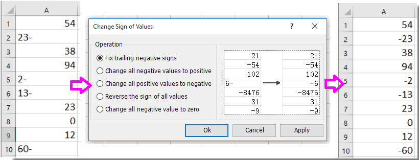 when and how to fix cell numbers in excel
