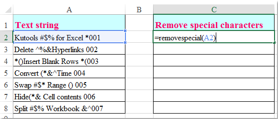 blank character copy paste how to remove some special characters from string in excel 10096