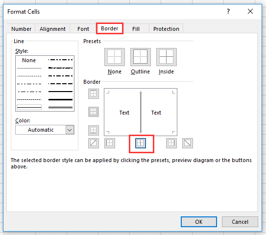 doc rotate text border 5