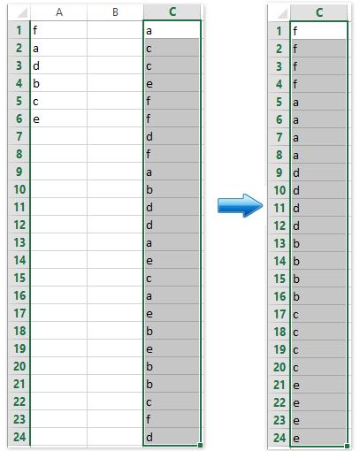 doc save custom sort criteria 7