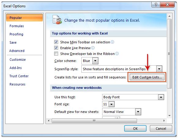 doc save custom sort criteria 8