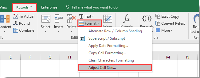 doc set cell size in cm 4