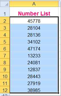 how to find odd and even numbers in excel