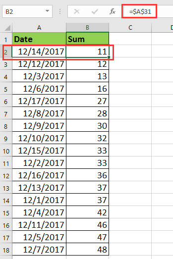 excel how to keep formulas delete data