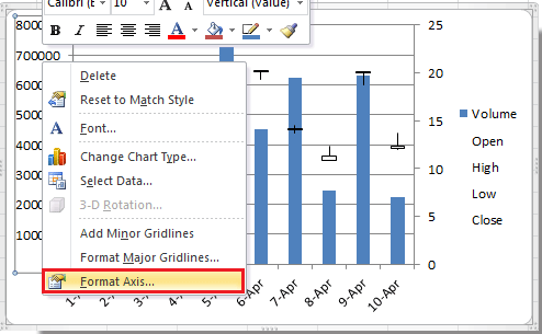 How to create stock chart in excel doc stock chart 5 ccuart Choice Image