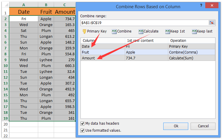 how to put month and year in excel