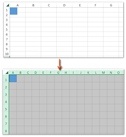 ExtendOffice  Grid Paper Template
