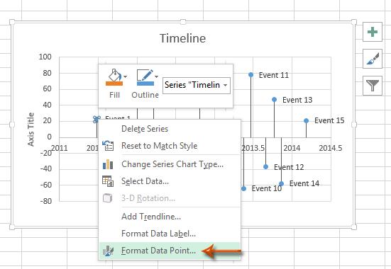 How To Create Timeline Milestone Chart Template In Excel - Event timeline template excel