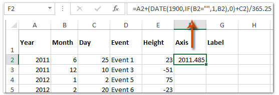 milestone excel template for two years