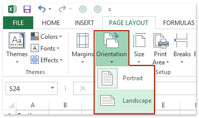 Click Enterprise Printing Copy Page Setup
