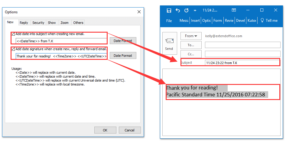 How to create an outlook signature line in word ccuart