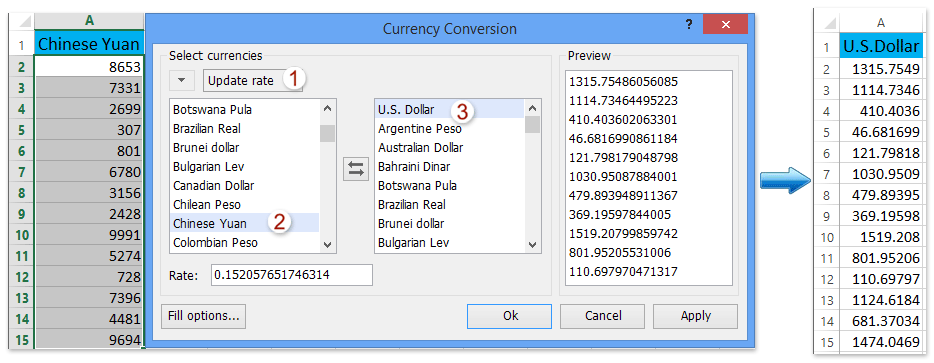 How To Multiply A Range Of Cells By Same Number In Excel