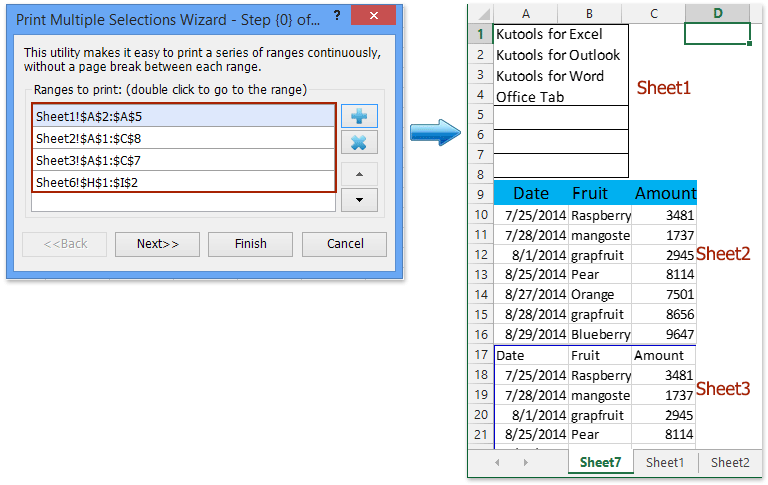 how to print all multiple tabs at once in excel