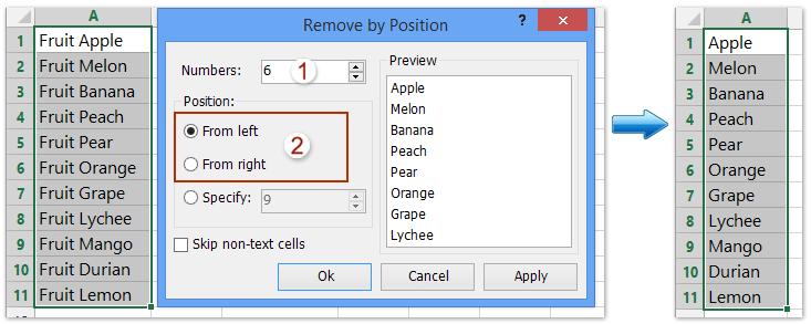 ad remove prefix suffix
