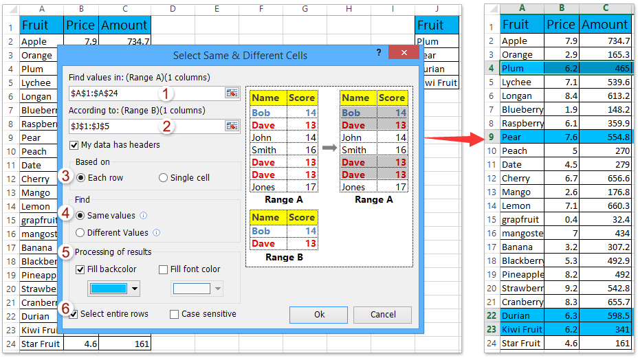 How To Copy Cells If Column Contains Specific Valuetext In Excel