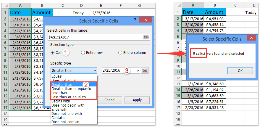 How To Sumif Date Is Lessgreater Than Today In Excel