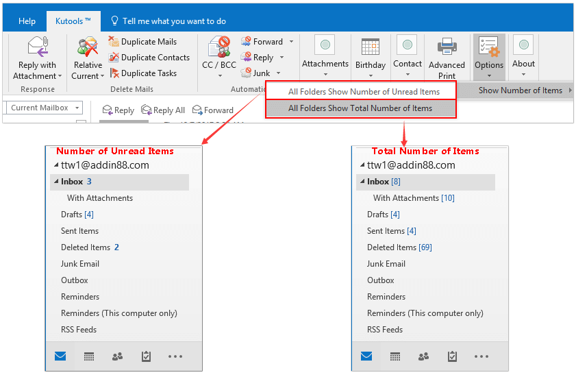 email - Outlook archive function from IMAP folder to local ...