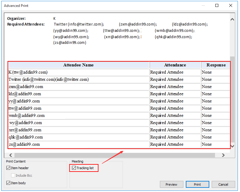 outlook print to pdf missing