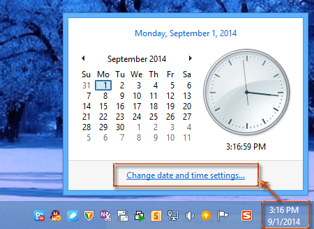 outlook how to change time zone