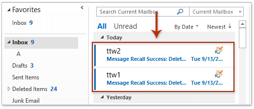Can I Delete An Email I Sent