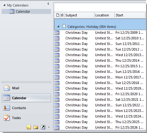 How To Add Holidays Calendar In Outlook
