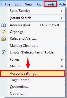 how to disable outlook change notifier