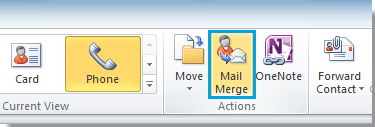 how to send personalized mass emails in outlook 2010
