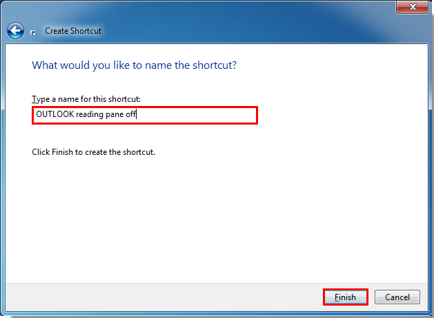 Cannot Open The Outlook Window >> How to start Outlook with all reading panes off by default?