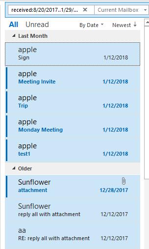 doc export emai in date range 2