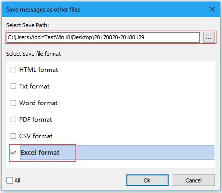 doc export emai in date range 6