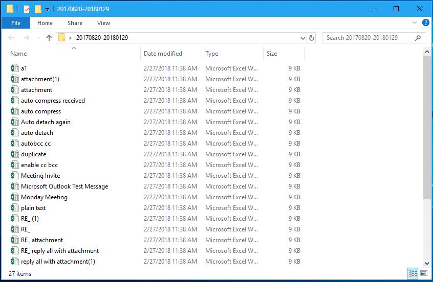 doc export emai in date range 8