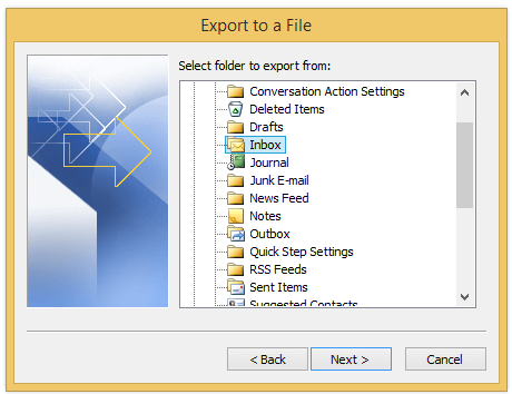 doc export email to excel file 4
