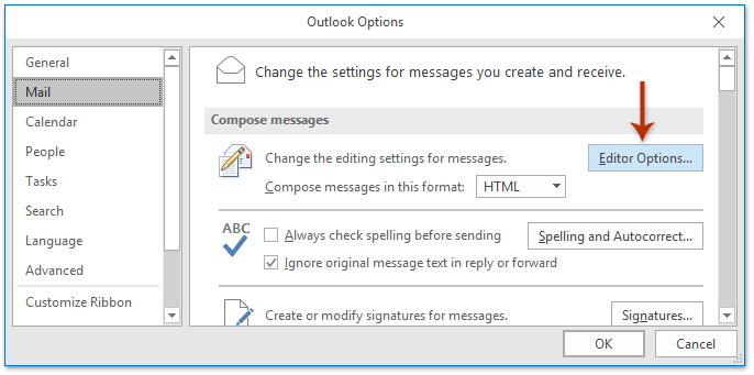 how to show pictures in outlook