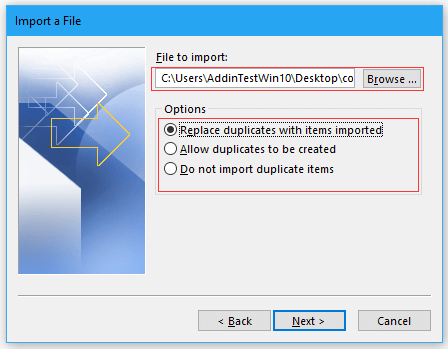 doc import contacts from excel 8