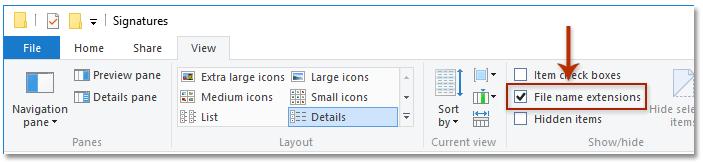 insert signature in pdf windows