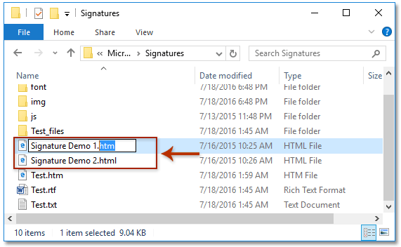 insert signature in pdf file