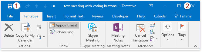 how to create a meeting in outlook