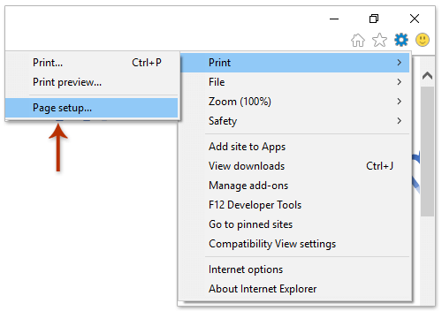 In The Page Setup Dialog Box Please Check Print Background Colors And Images Option Paper Options Section Click OK Button