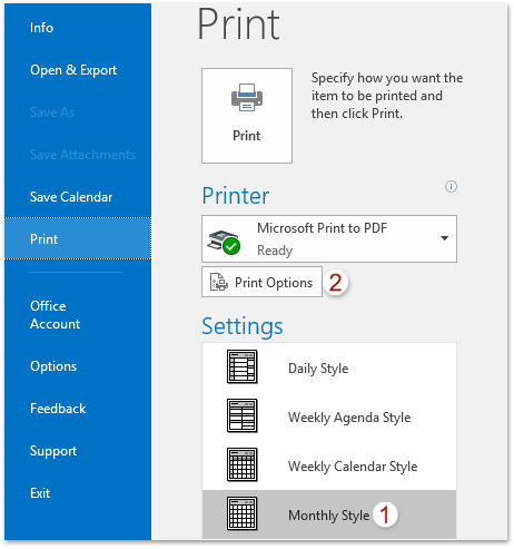 print photo calendar