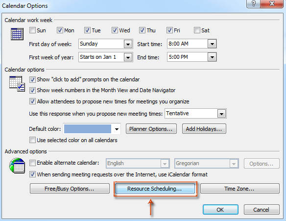 Set Up A Meeting Room In Outlook