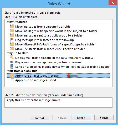 How to remove all importance flags of incoming messages in outlook note in outlook 2007 click to highlight the check messages when they arrive instead ccuart Choice Image