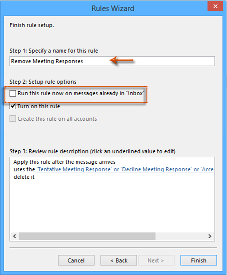 how to remobe aito delete from outlook