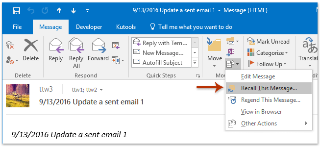how to send email in ebay message
