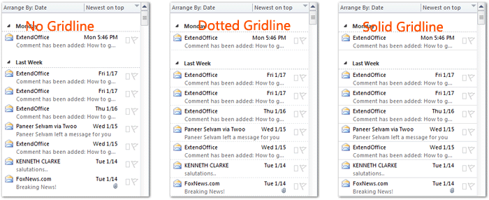 how to change memo style in outlook 2013