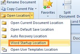 where is startup folder