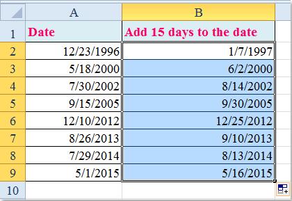 Excel add days to date in Brisbane